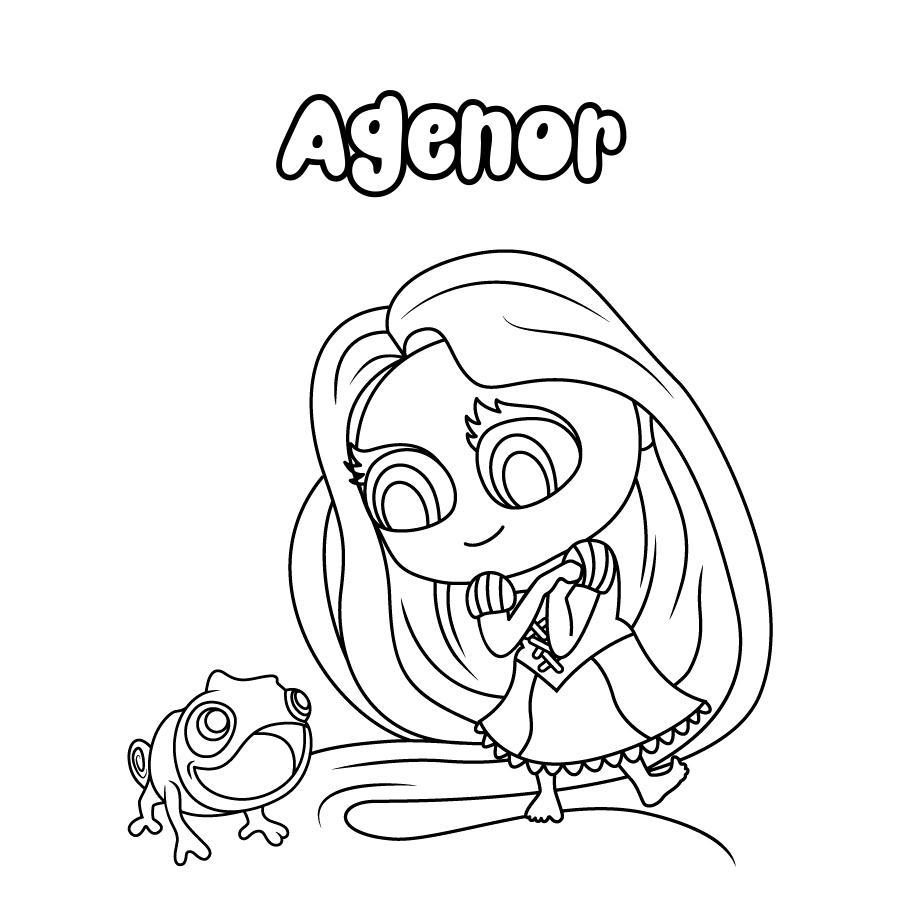 Dibujo de Agenor