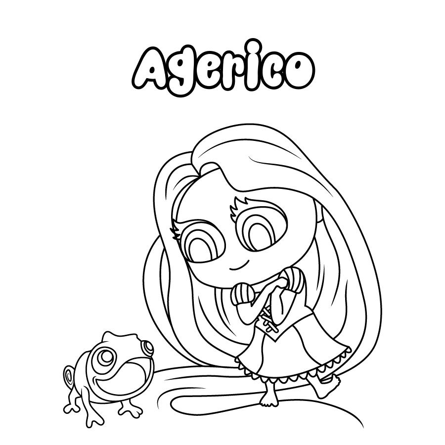 Dibujo de Agerico