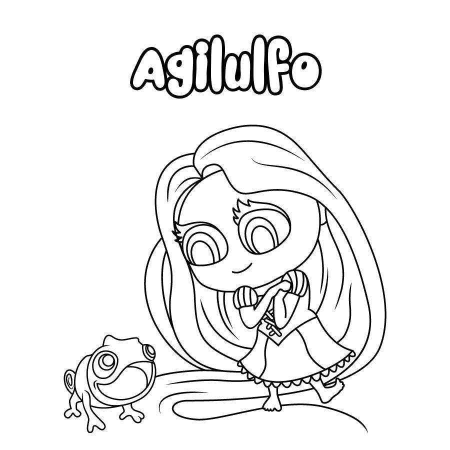 Dibujo de Agilulfo