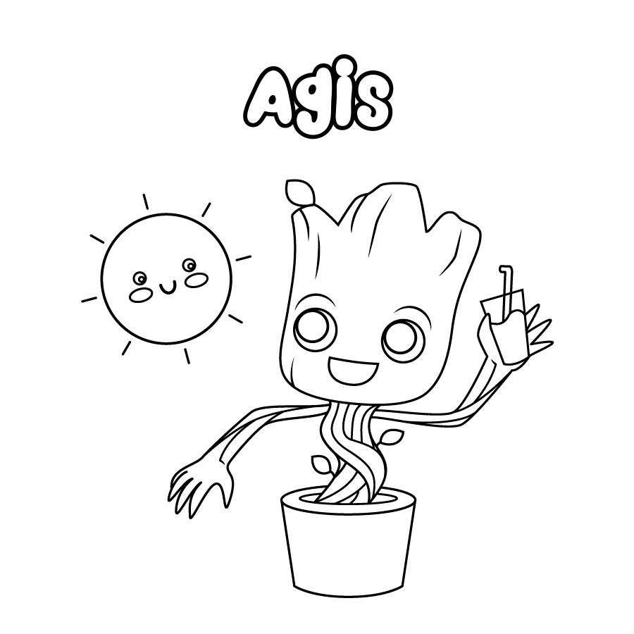 Dibujo de Agis