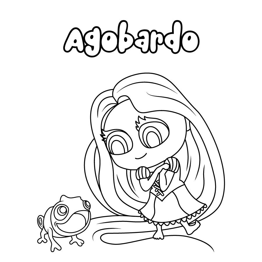 Dibujo de Agobardo