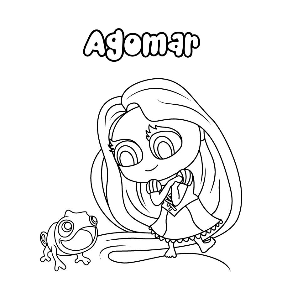 Dibujo de Agomar
