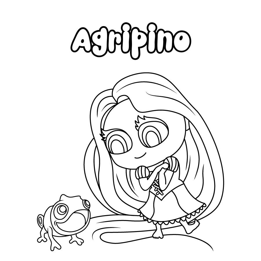 Dibujo de Agripino