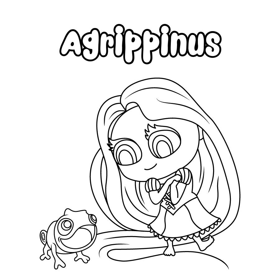 Dibujo de Agrippinus