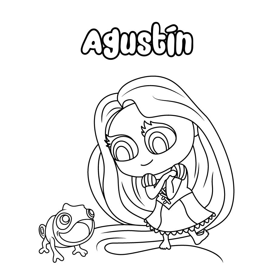 Dibujo de Agustín