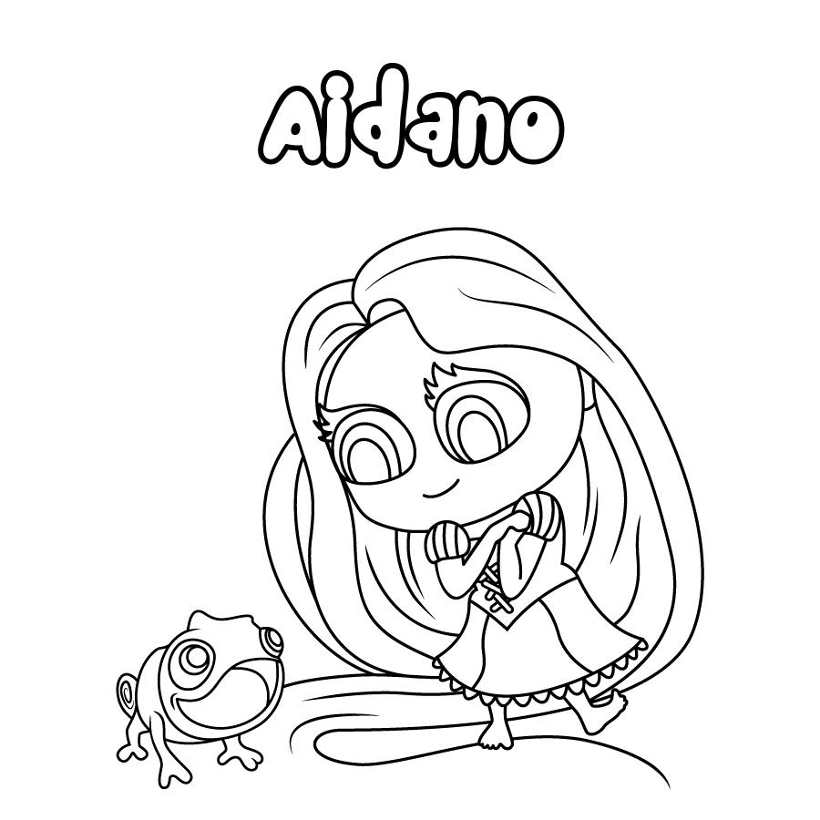 Dibujo de Aidano