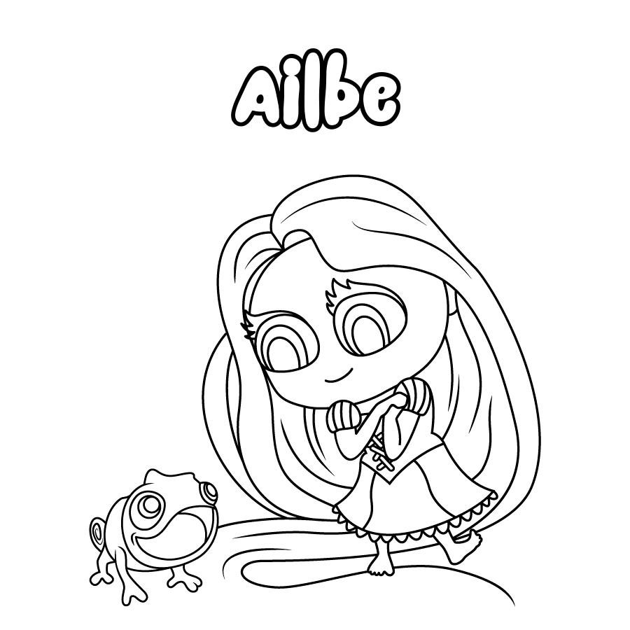 Dibujo de Ailbe