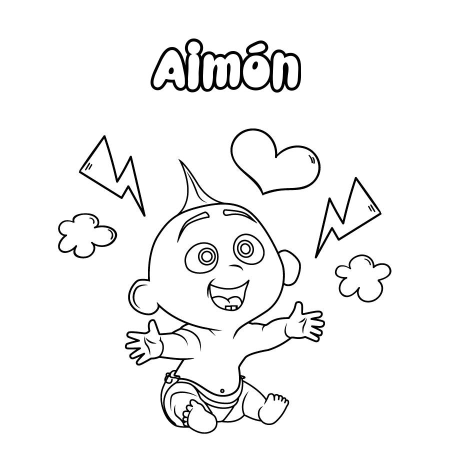 Dibujo de Aimón