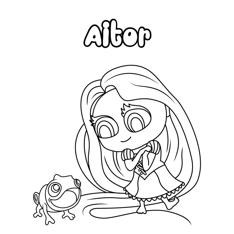 Dibujo de Aitor
