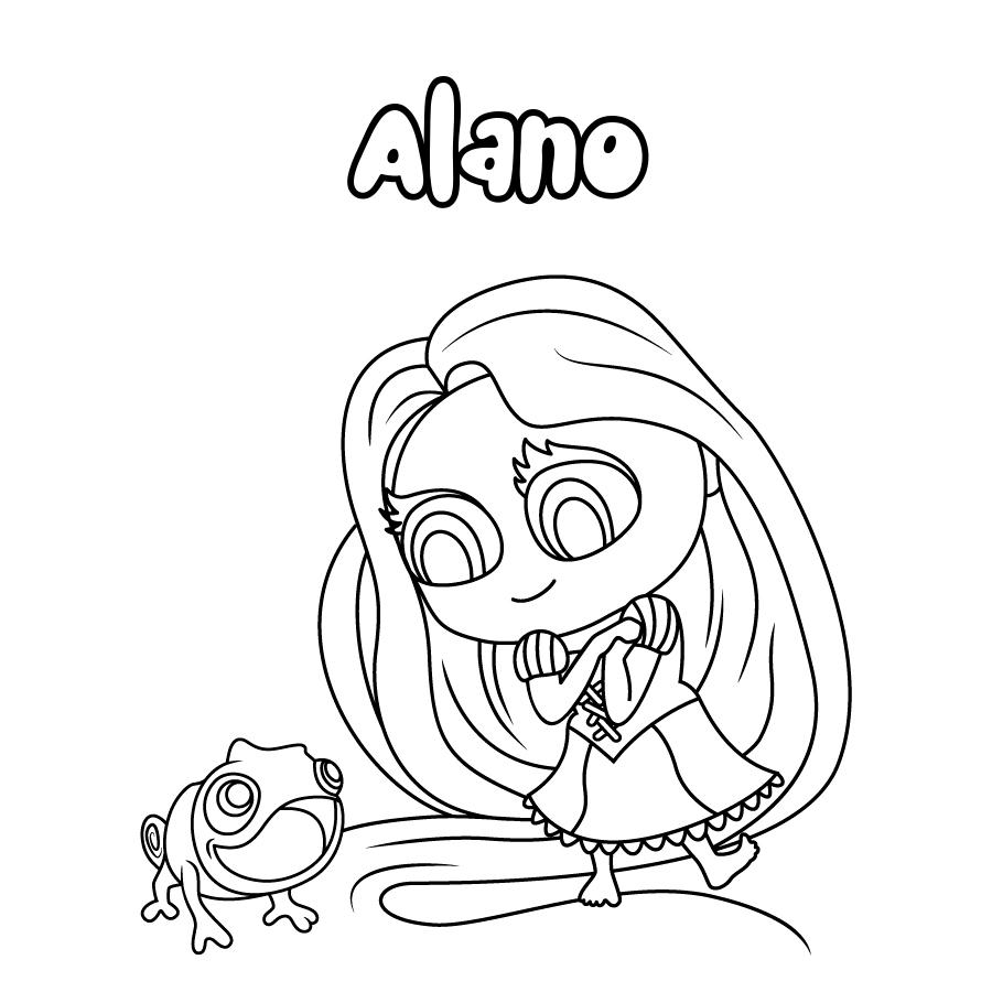 Dibujo de Alano