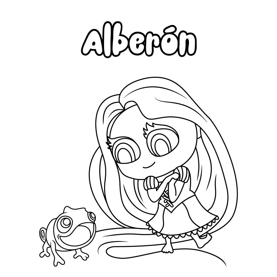 Dibujo de Alberón