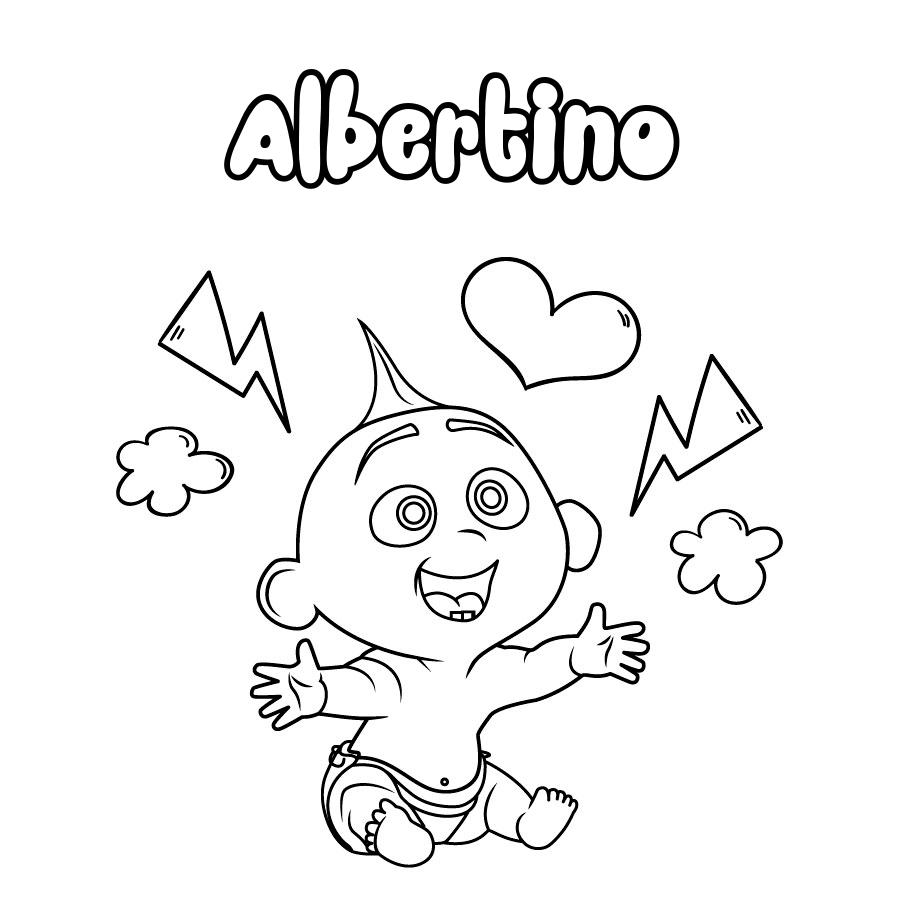 Dibujo de Albertino