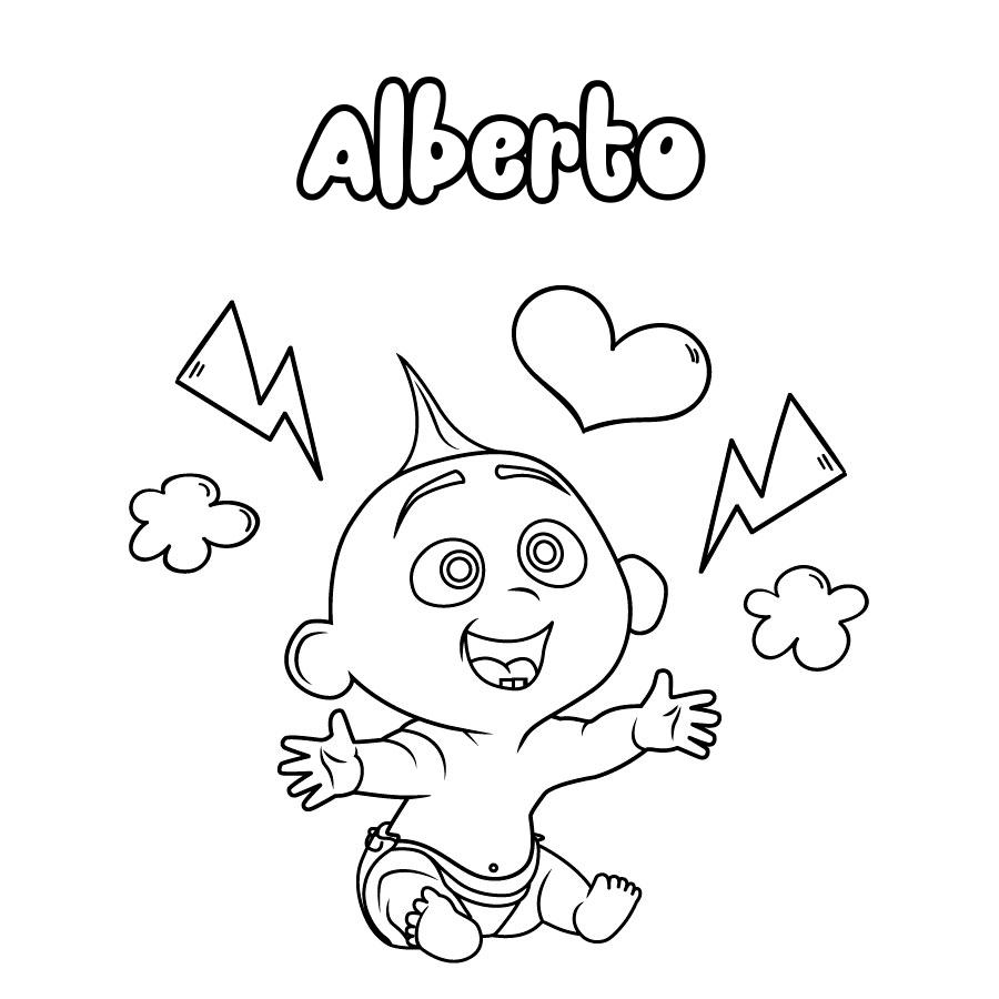 Dibujo de Alberto