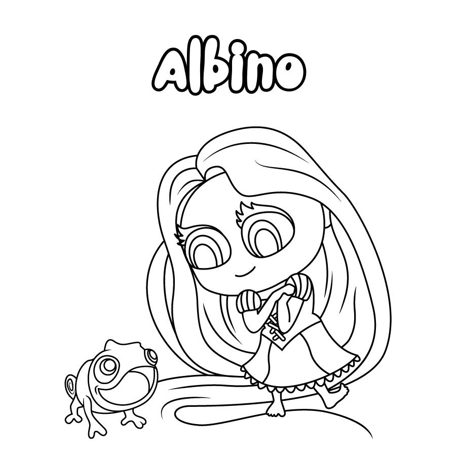 Dibujo de Albino