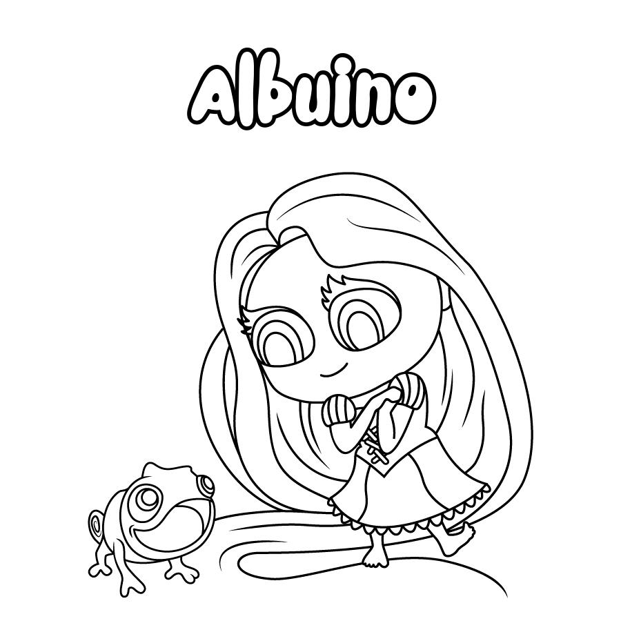 Dibujo de Albuino