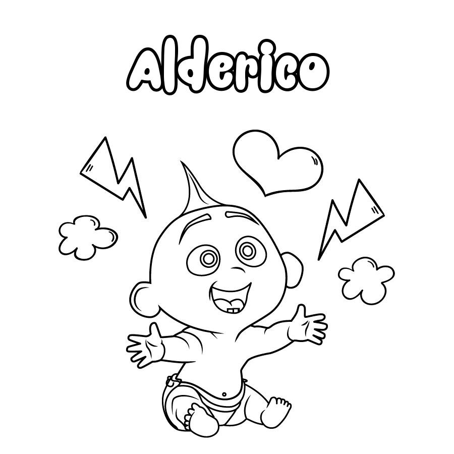 Dibujo de Alderico