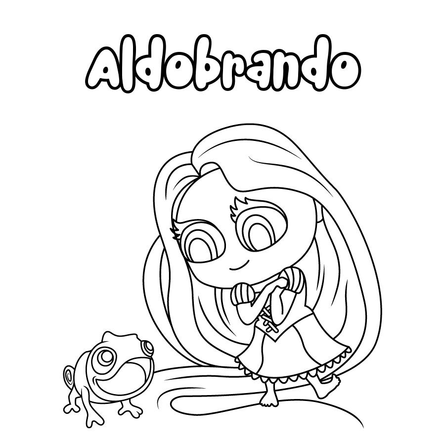 Dibujo de Aldobrando