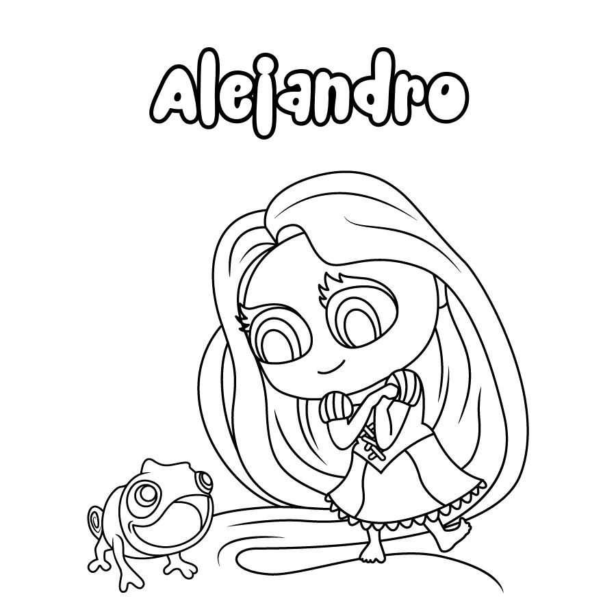 Dibujo de Alejandro