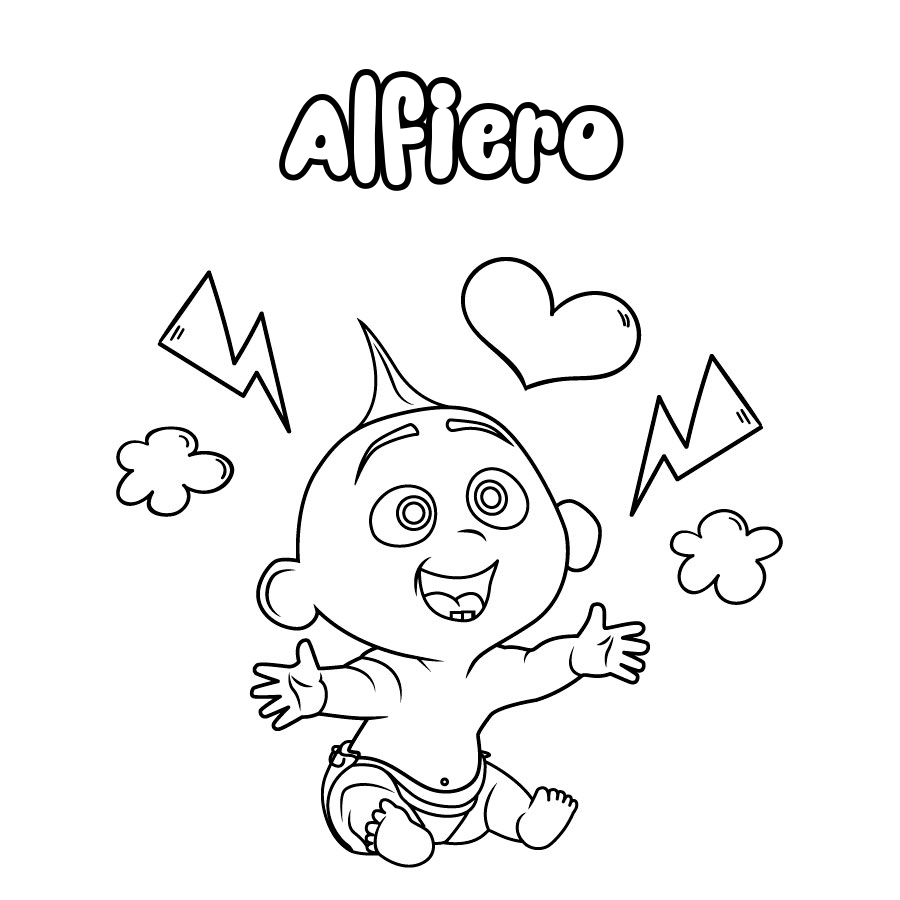 Dibujo de Alfiero