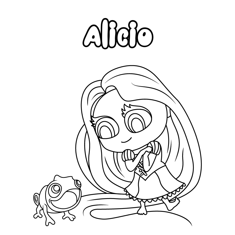 Dibujo de Alicio