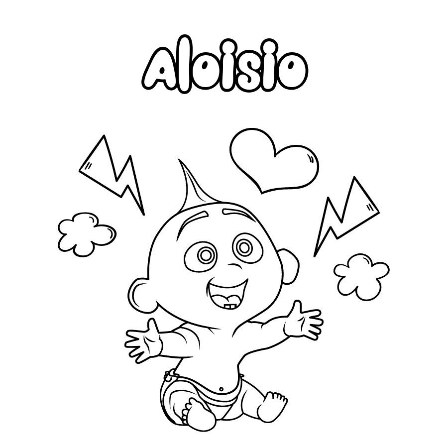 Dibujo de Aloisio