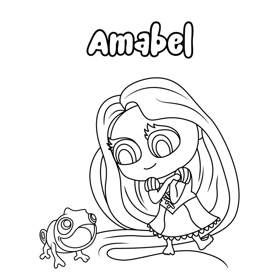 Dibujo de Amabel