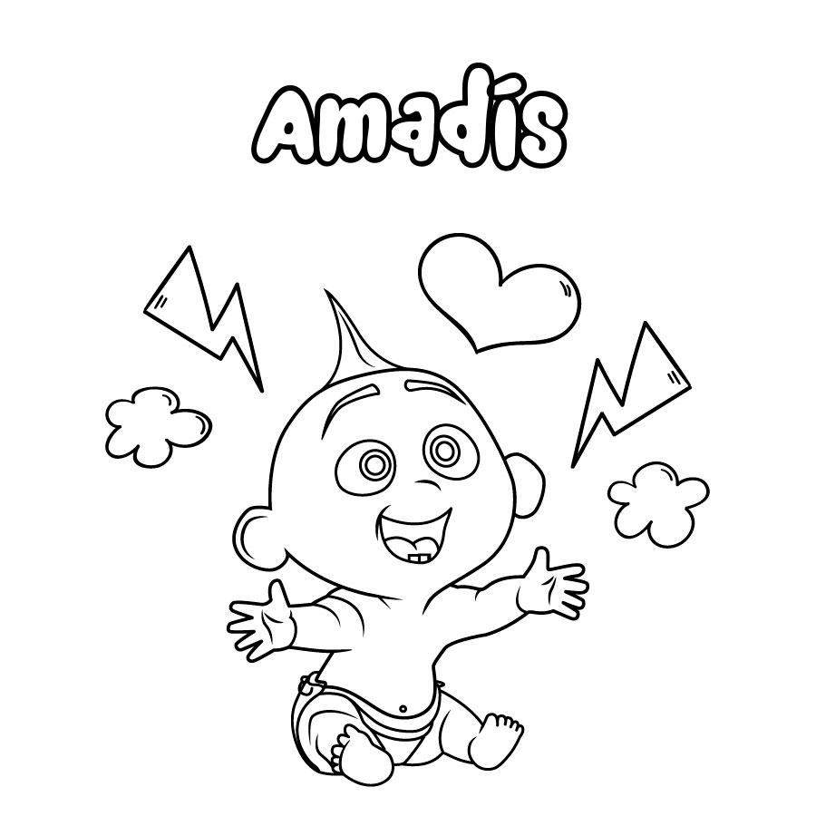 Dibujo de Amadís