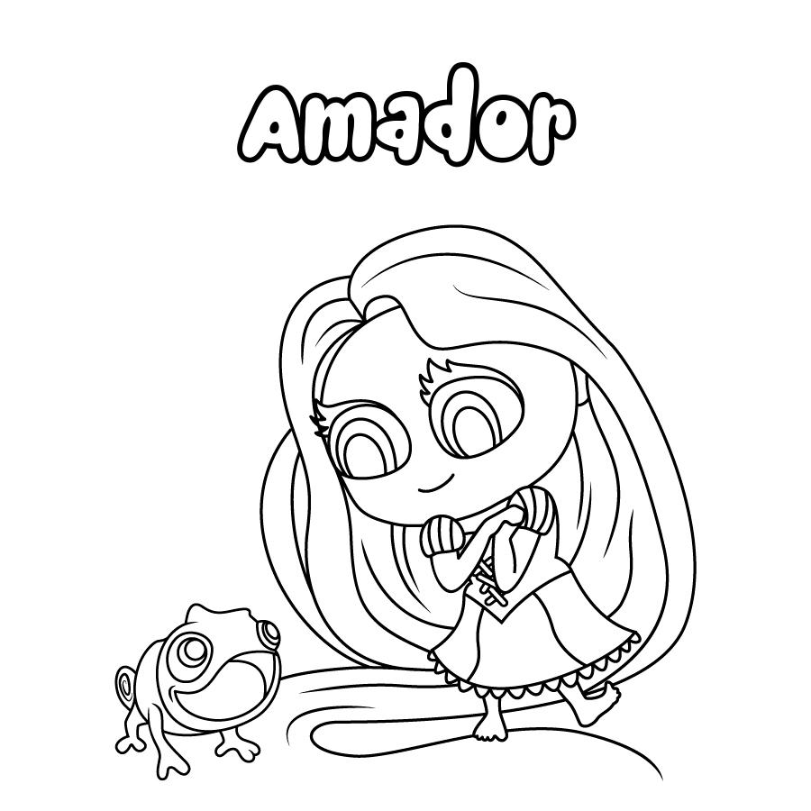 Dibujo de Amador
