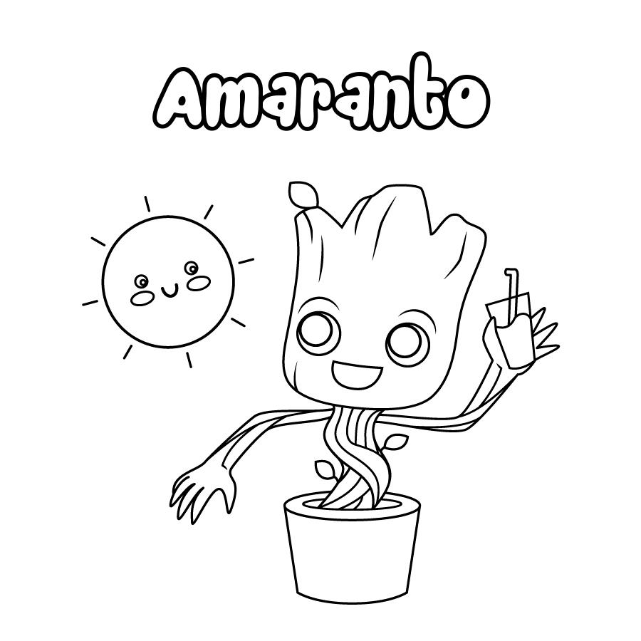 Dibujo de Amaranto