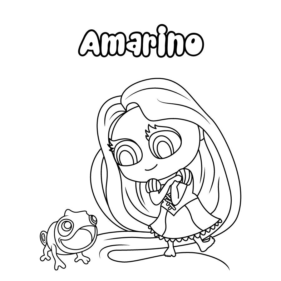 Dibujo de Amarino
