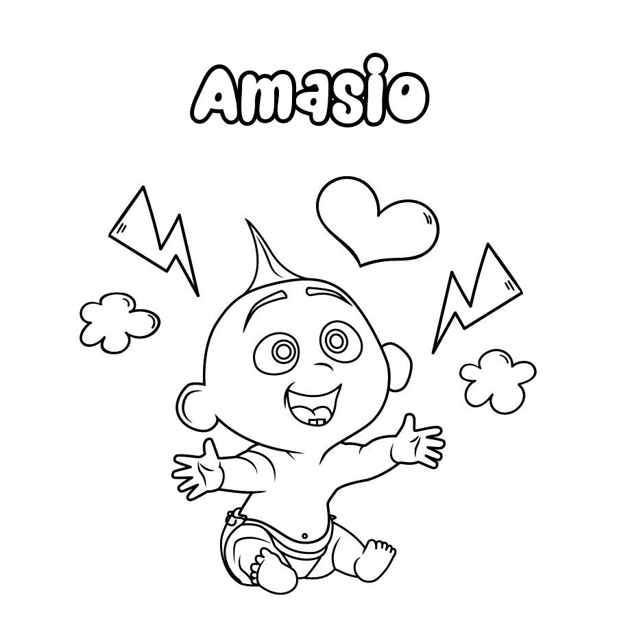 Dibujo de Amasio