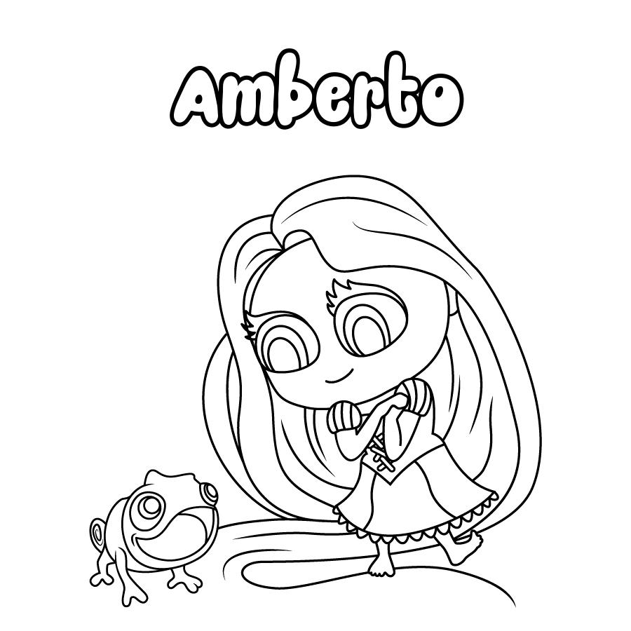 Dibujo de Amberto