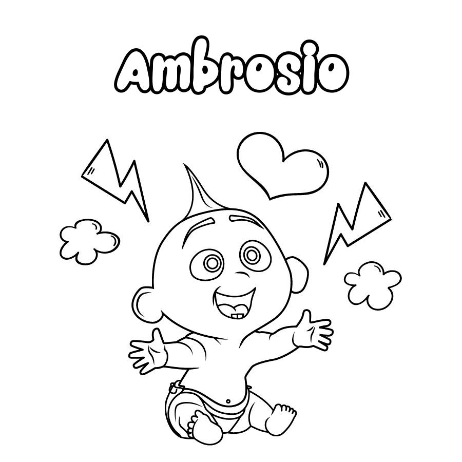 Dibujo de Ambrosio