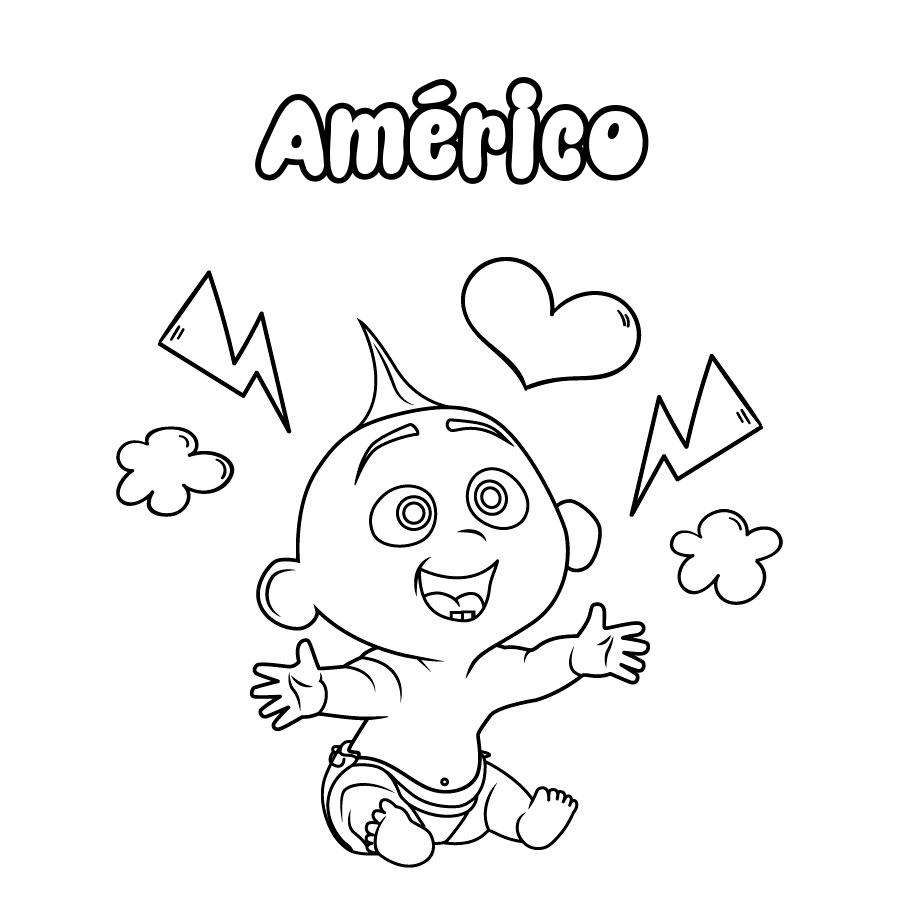 Dibujo de Américo
