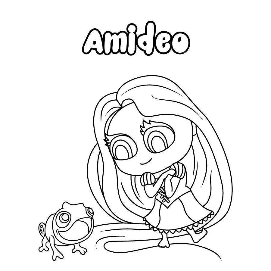 Dibujo de Amideo