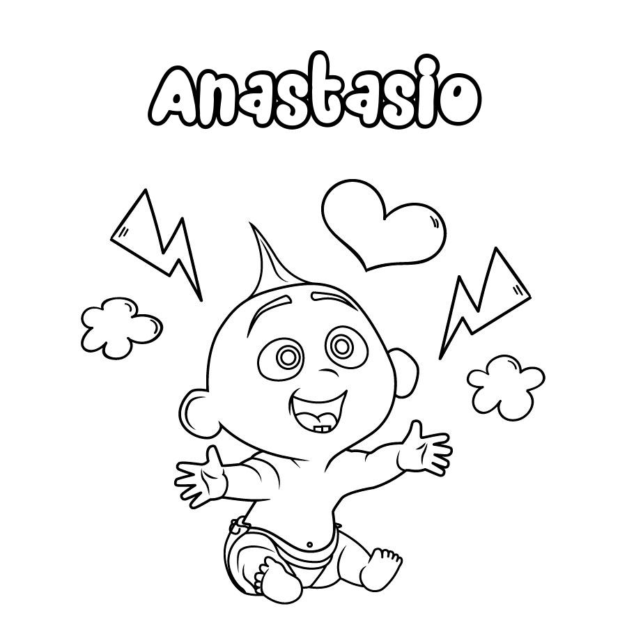 Dibujo de Anastasio