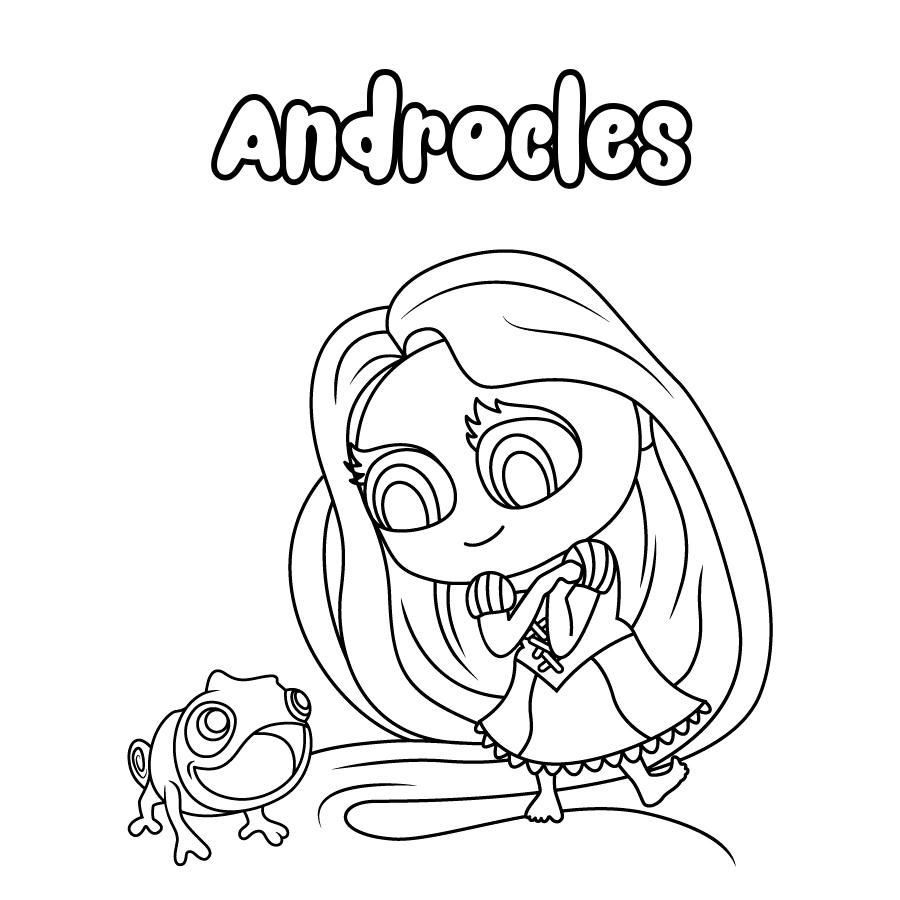 Dibujo de Androcles