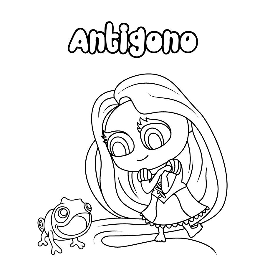 Dibujo de Antigono