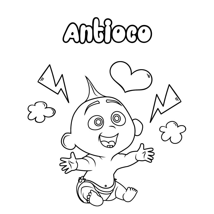 Dibujo de Antioco
