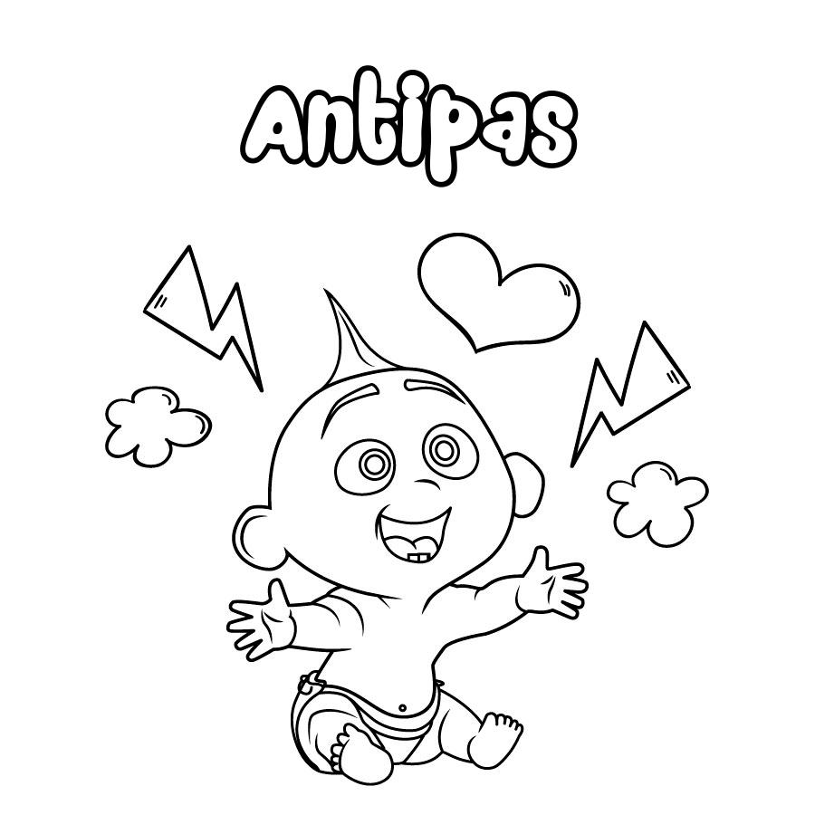 Dibujo de Antipas