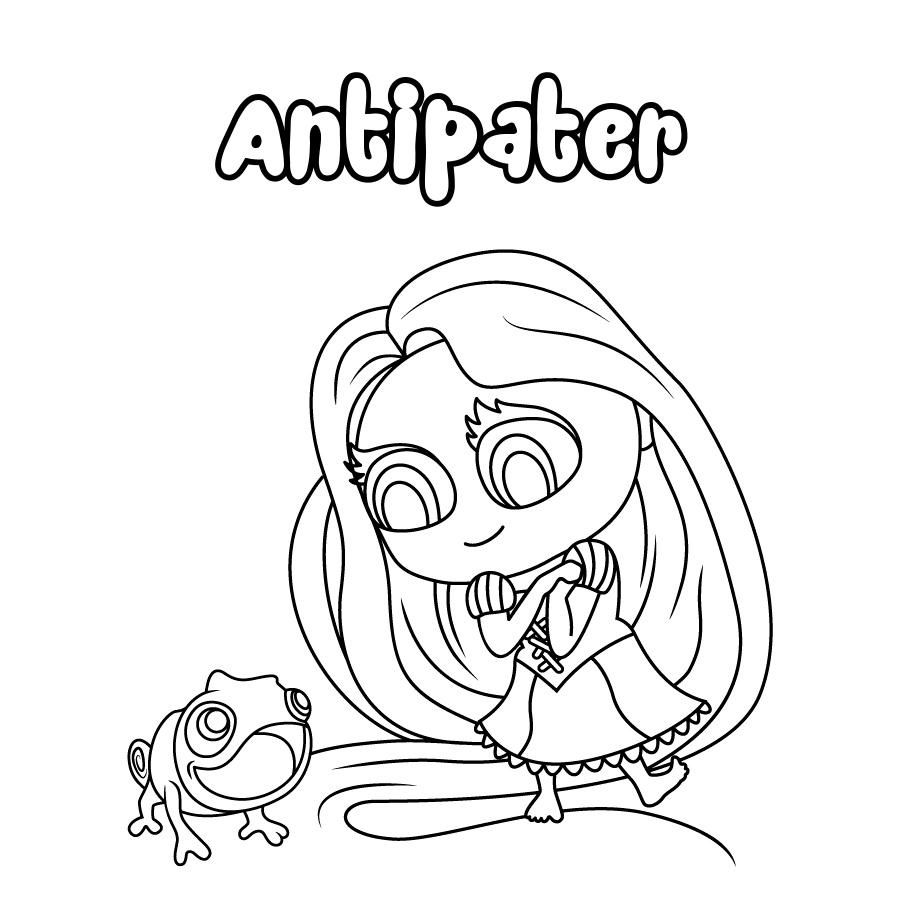 Dibujo de Antipater