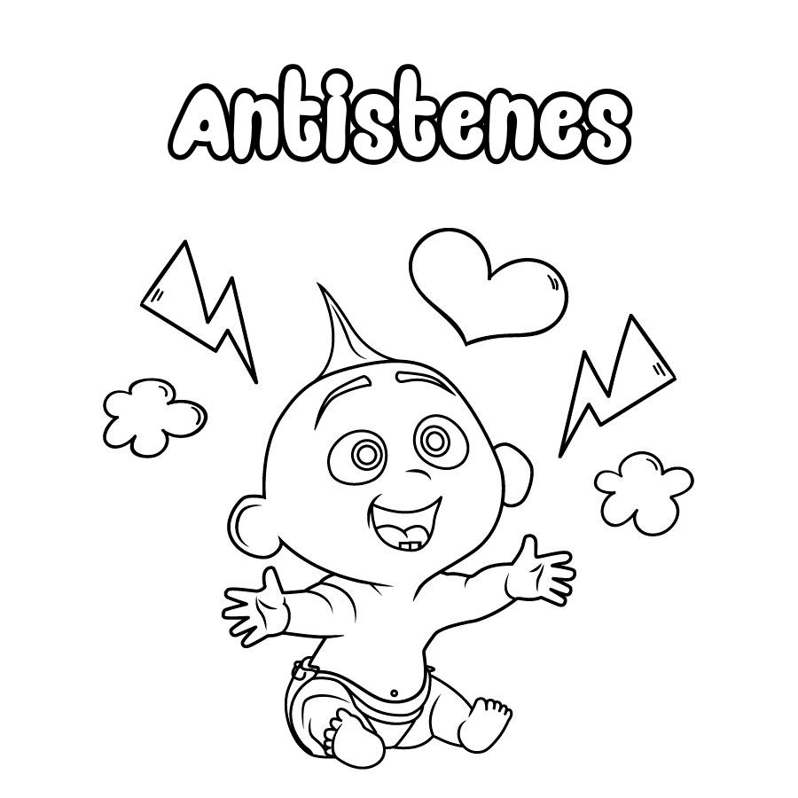 Dibujo de Antistenes