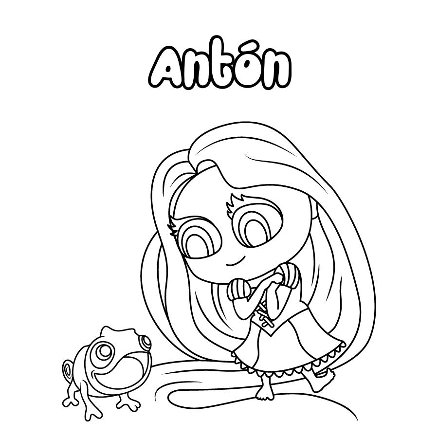 Dibujo de Antón