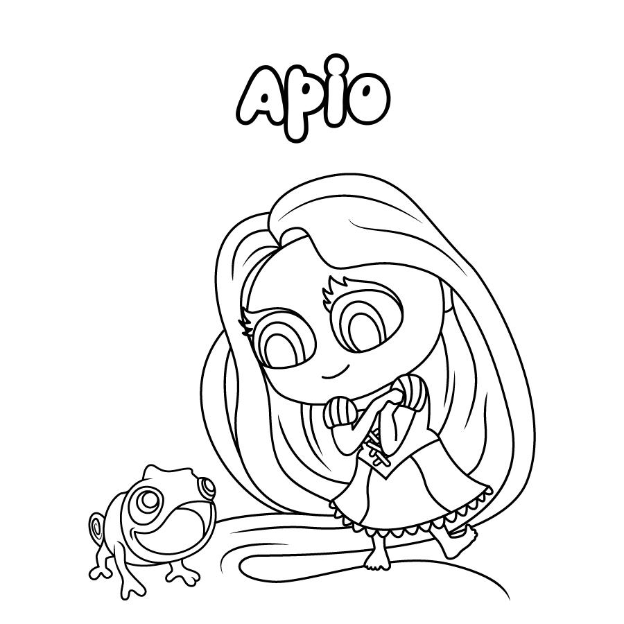 Dibujo de Apio