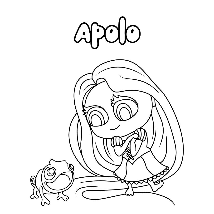 Dibujo de Apolo