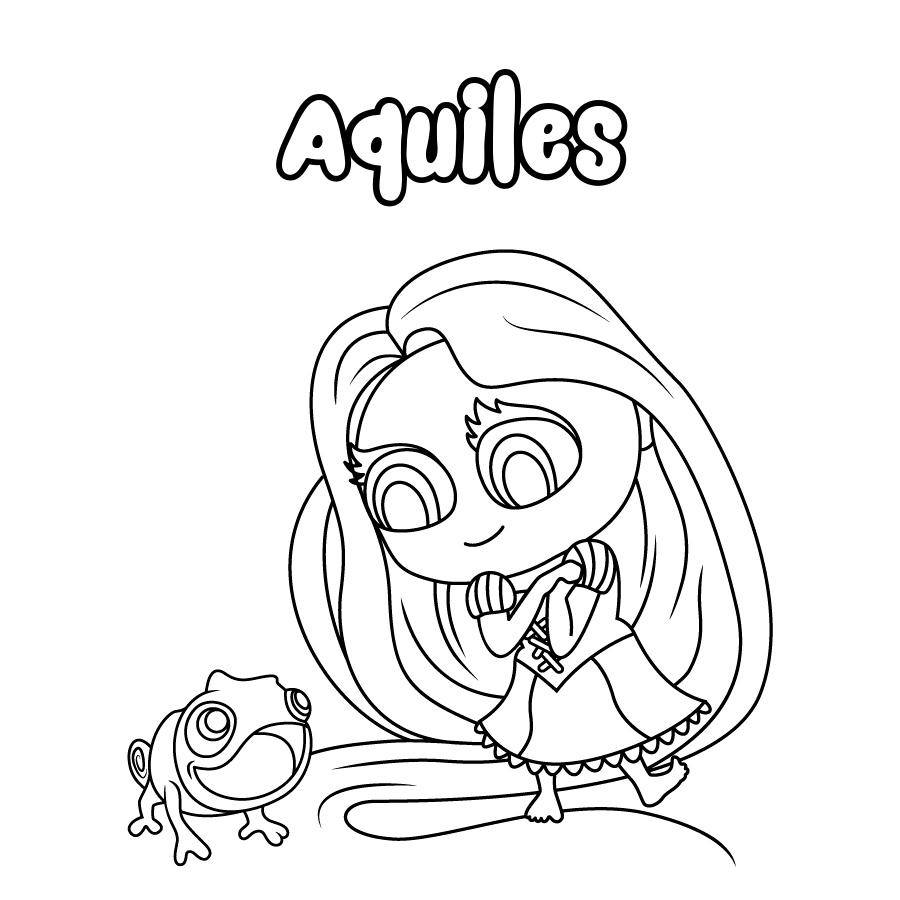 Dibujo de Aquiles