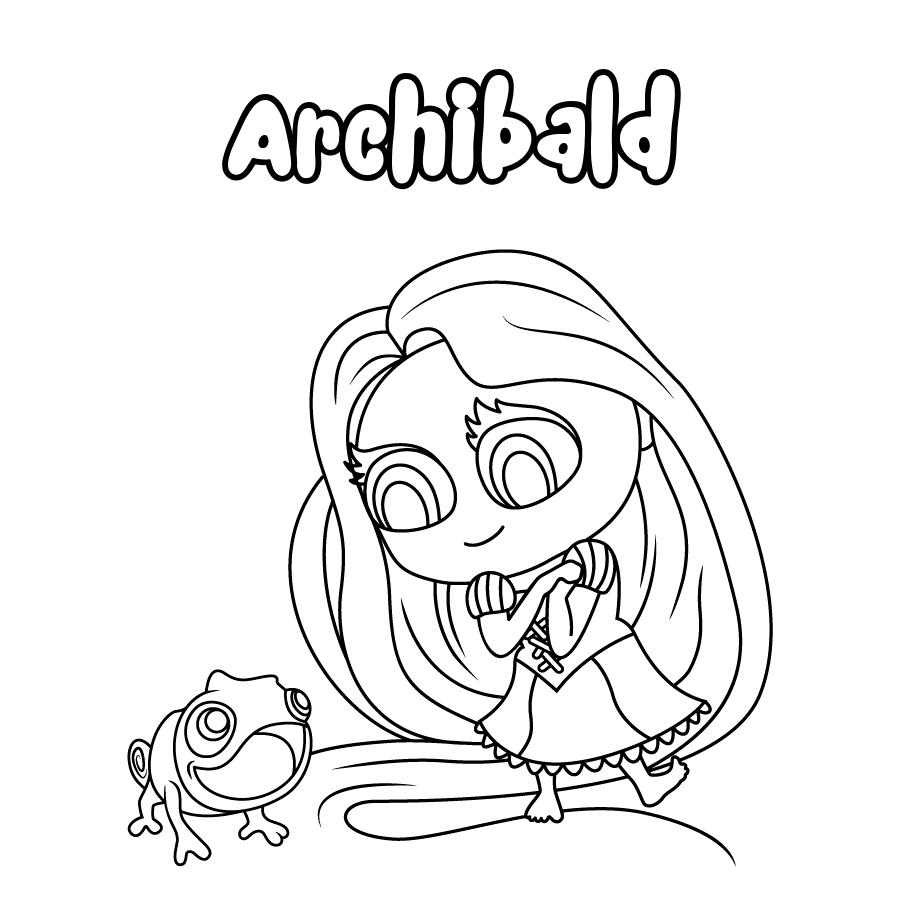 Dibujo de Archibald