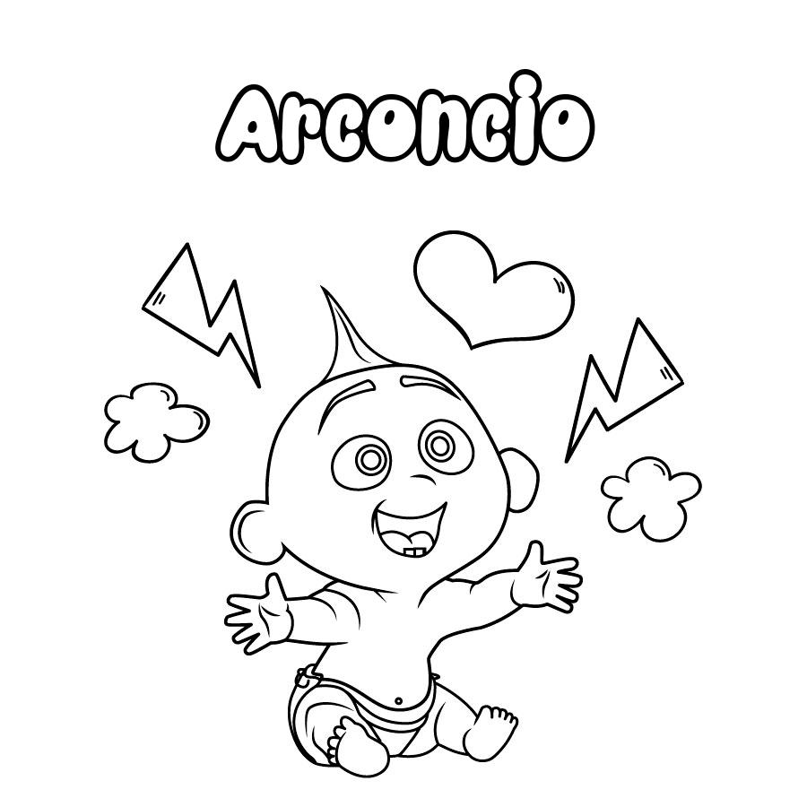 Dibujo de Arconcio
