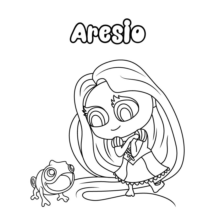 Dibujo de Aresio