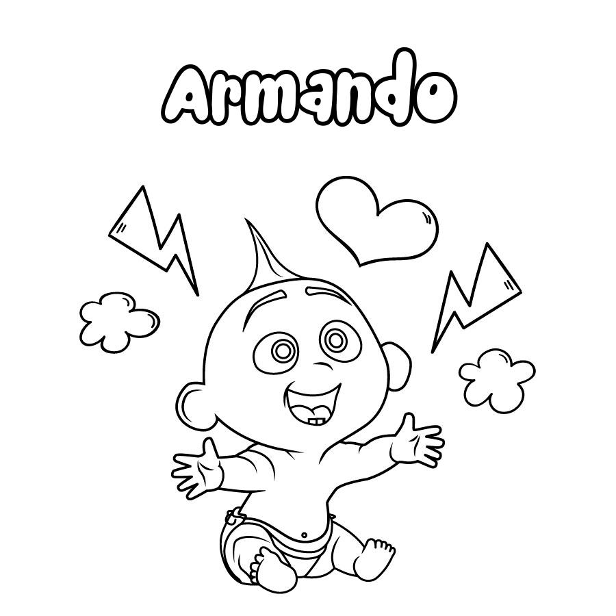 Dibujo de Armando